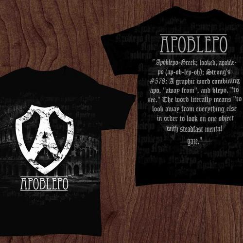 Tee concept for Apoblepo
