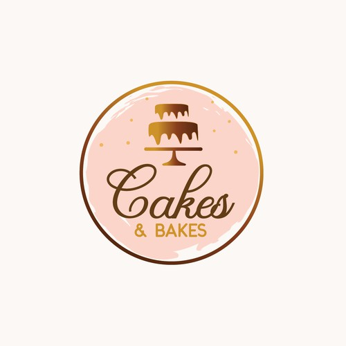 Cakes And Bakes Bakery Logo Design