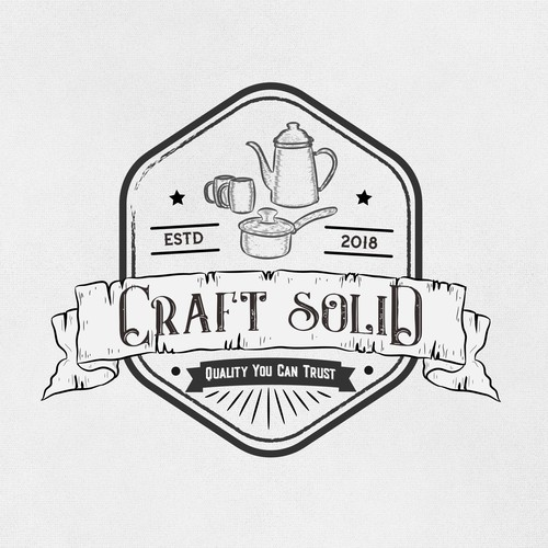 logo concept for Craft Solid