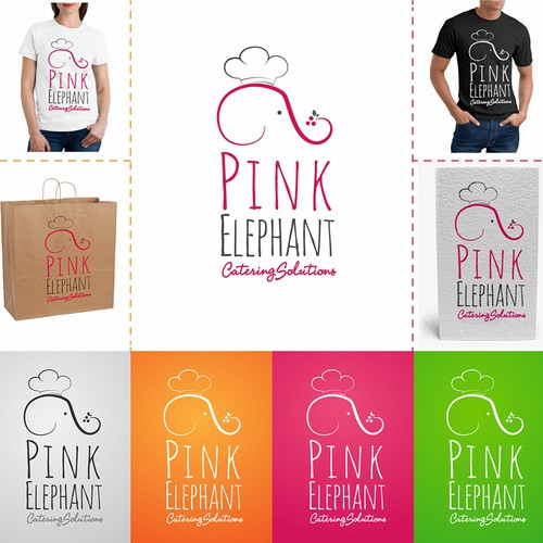 Pink Elephant  needs a new logo