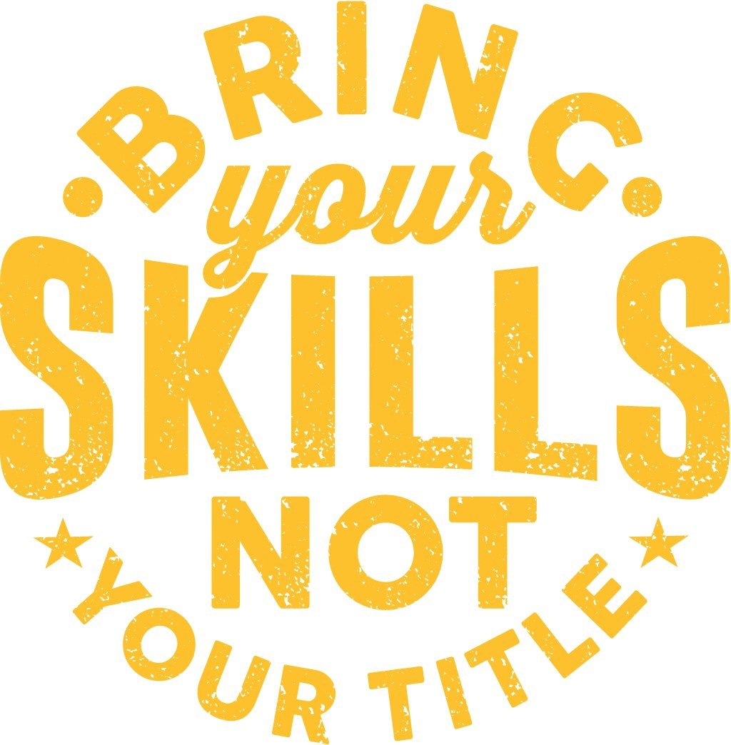 Design a Badass T-Shirt (mostly typography) for an IT team
