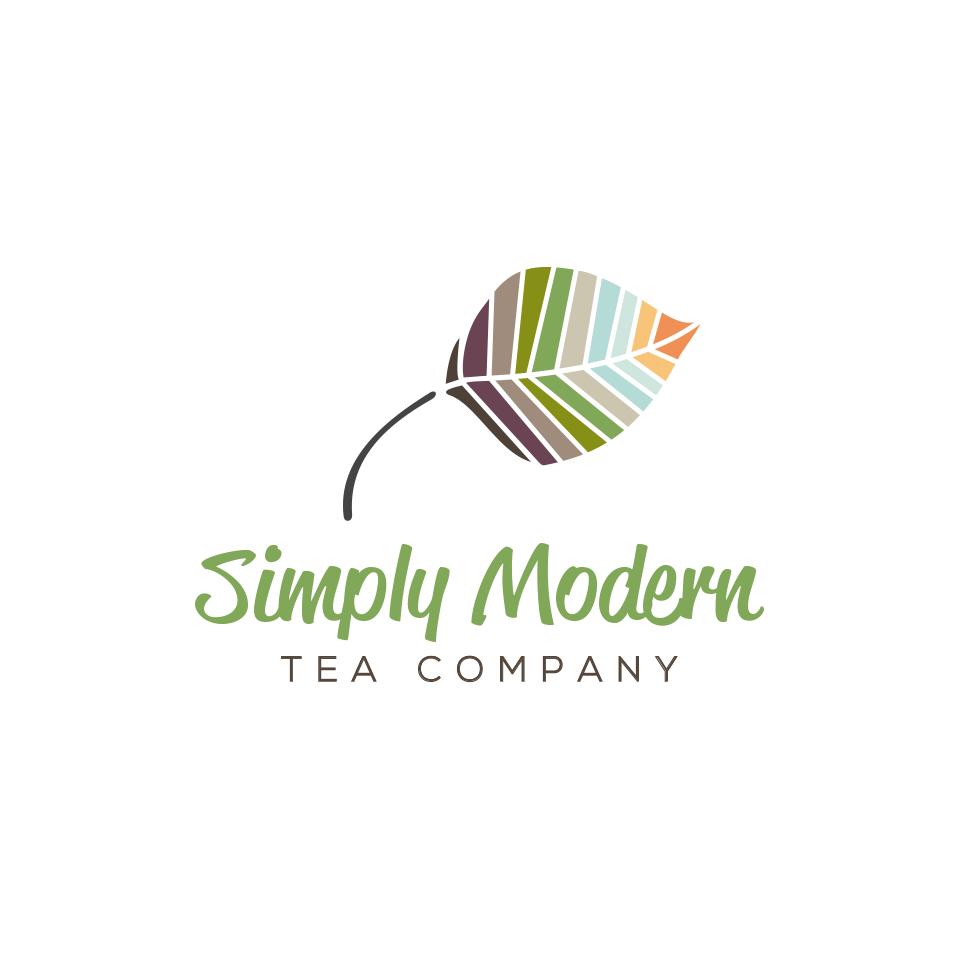 Design a piece of modern art for Simply Modern Tea Company's logo