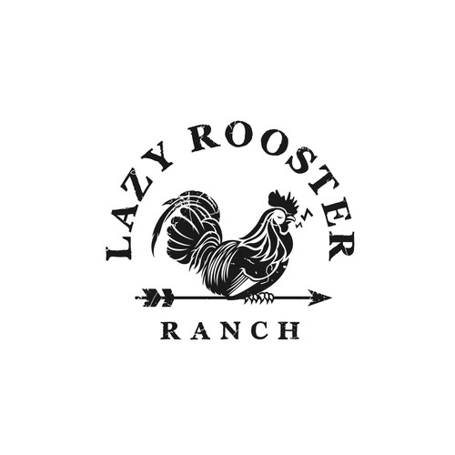 Logo for ranch signs