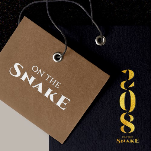 208 On The Snake | Logo Concept
