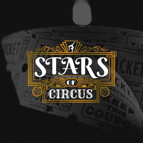 Art Deco Logo for Circus Performance