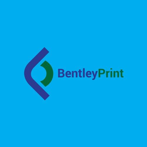 A letter logo bp.