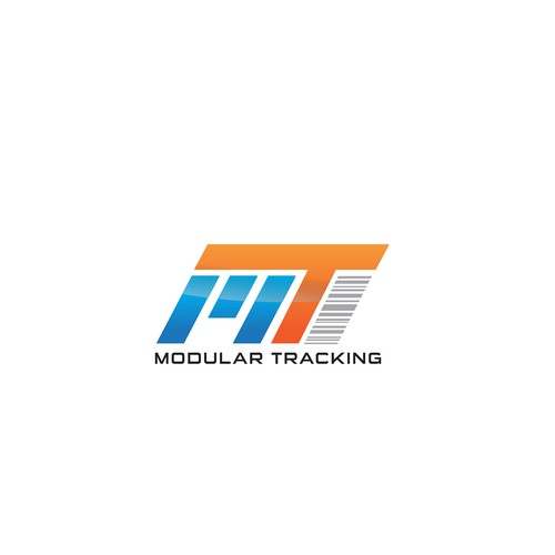 Logo for our new program called 'Modular Tracking'.