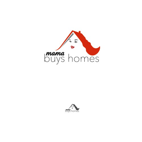 Fun - Powerful - Feminine Logo to Appeal to Homeowners