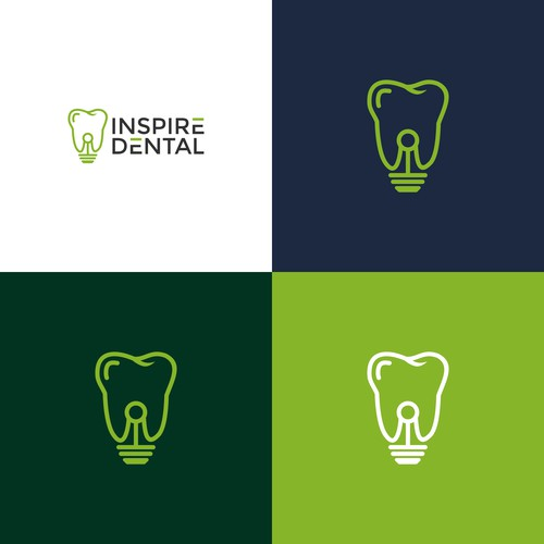 Design a strong and recognizable logo for a multi location dental practice