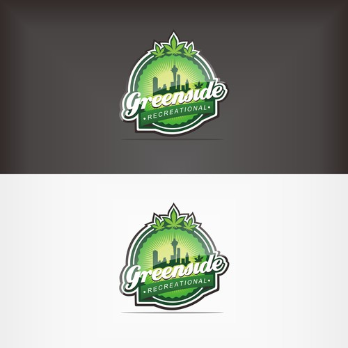 GREENSIDE Recreational Logo Design