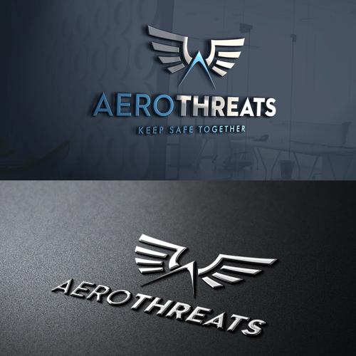 AeroThreats logo design