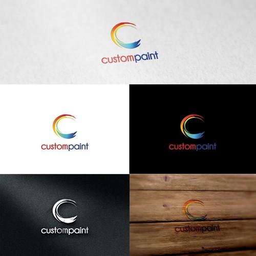Custom Paint Logo Design
