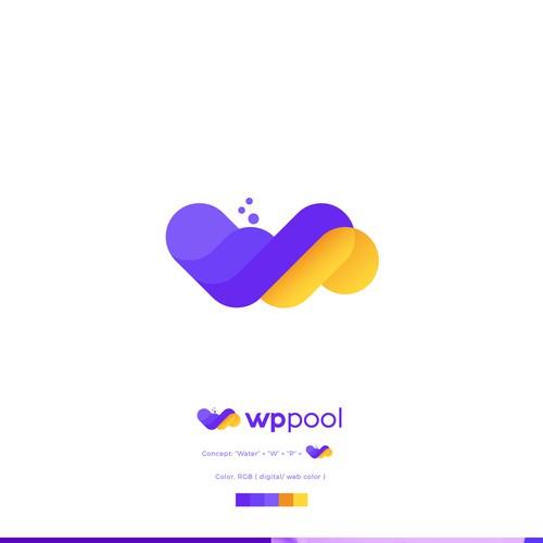 WPPool logo design
