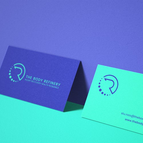 Logo & Business Card Design For The Body Refinery