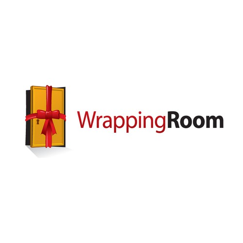 Attractive E-Commerce Logo for Gift Wrapping Website