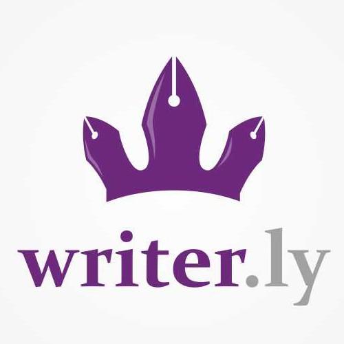 Startup needs logo! Writer.ly for self-publishing peeps.