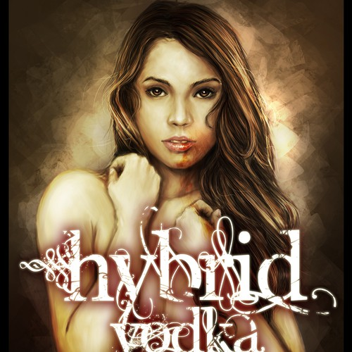clothing or merchandise design for Hybrid vodka