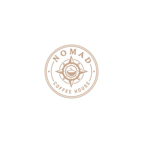 simple concept for nomad coffee house