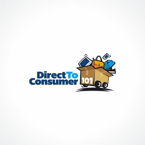 Fun Logo for Direct To Consumer 101