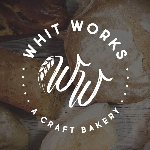 A Bakery logo with Whit