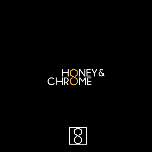 logo for honey & chrome