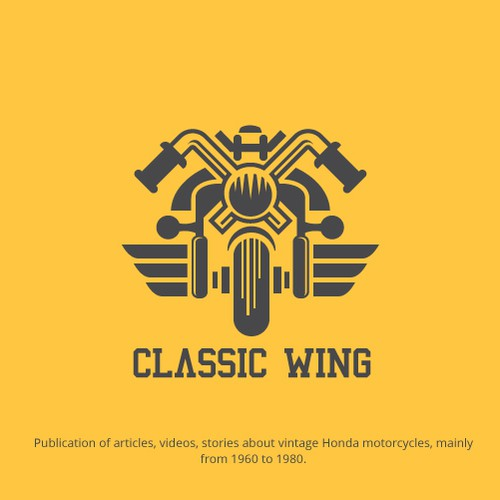 Bold Logo for Vintage Motorcycles Company