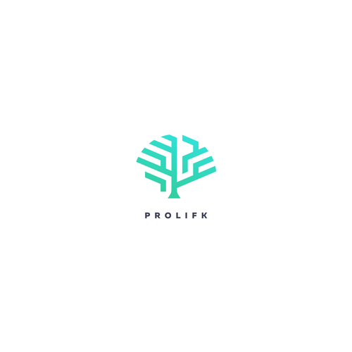 Modern, simple and easy memorable trees themed logo.