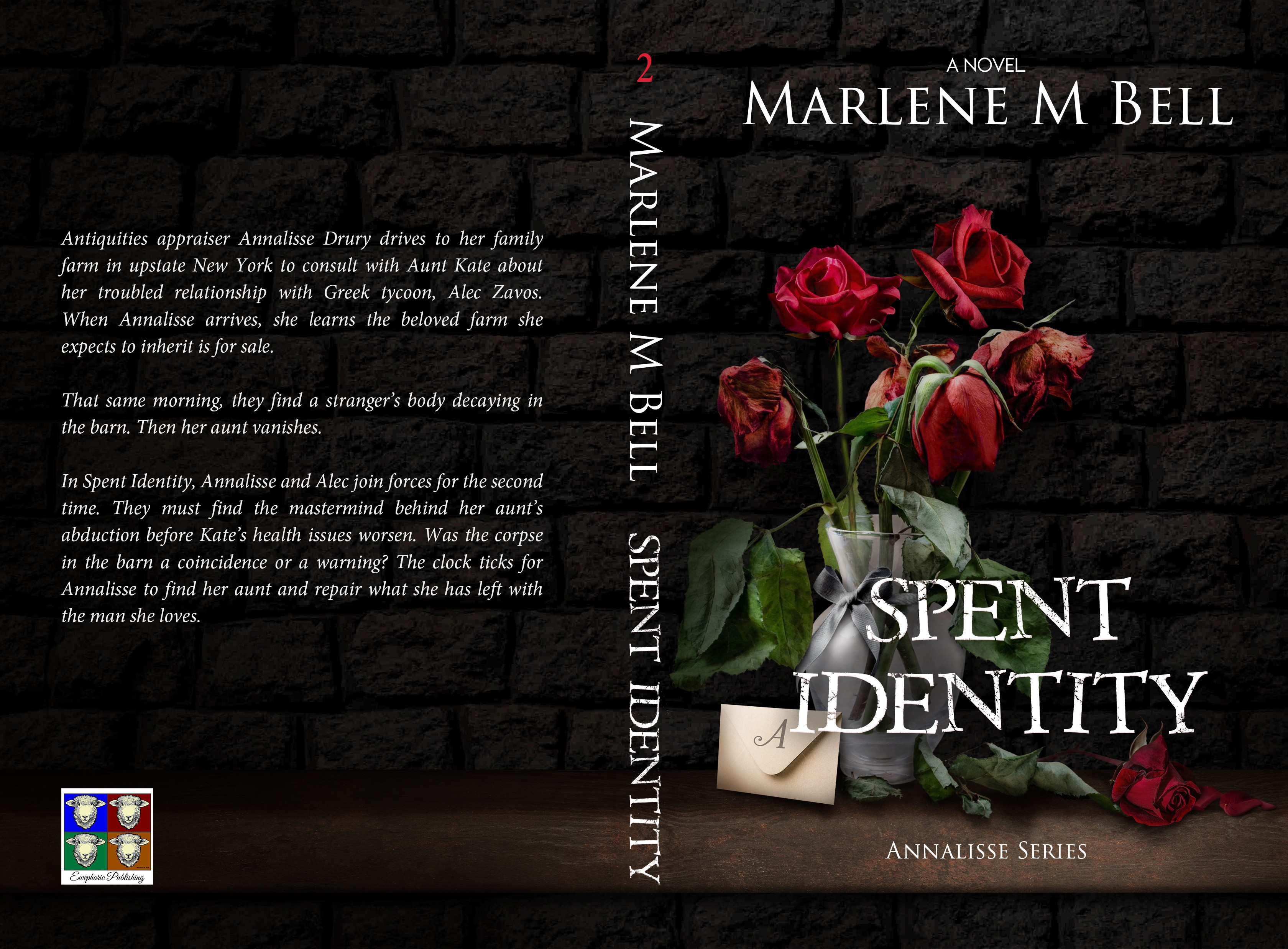 Series Book Cover for Spent Identity