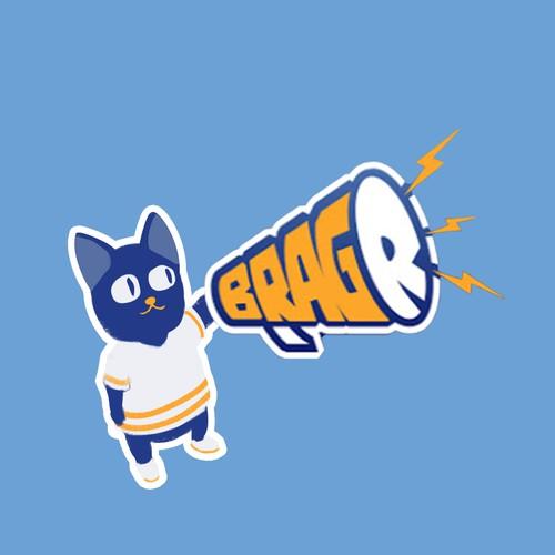 Mascot design for Sport app