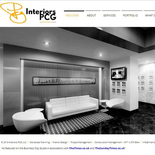 Luxury logo design for International art consultancy aiming at interior designers and hotel owners
