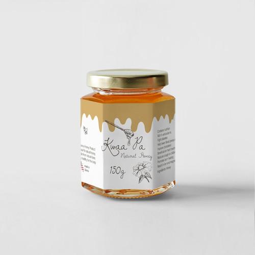 Honey label 3