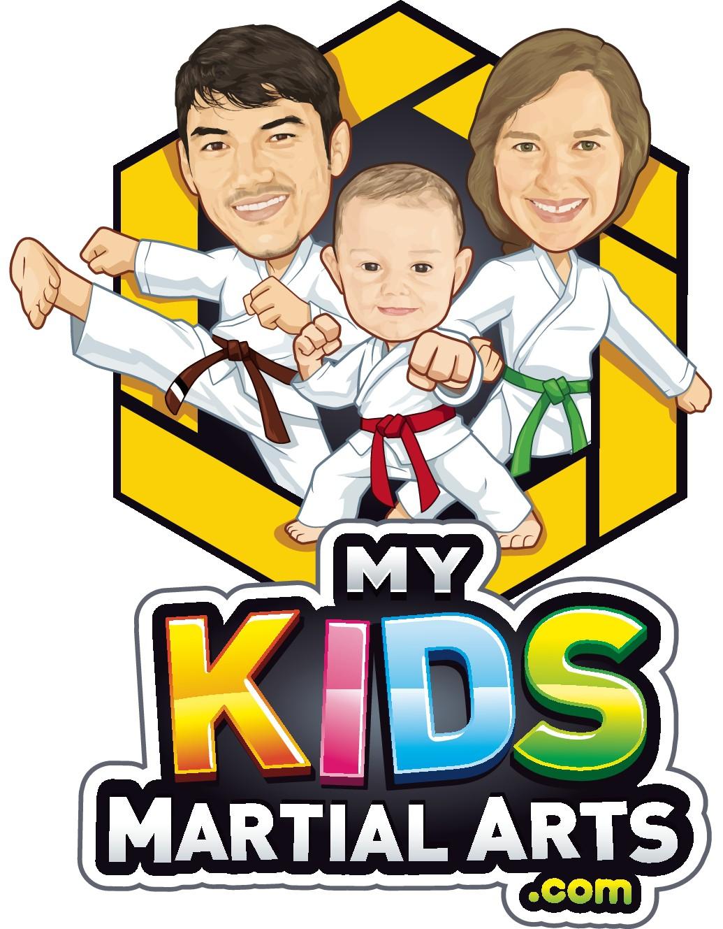 EYE-CATCHING logo for MyKidsMartialArts.COM!!