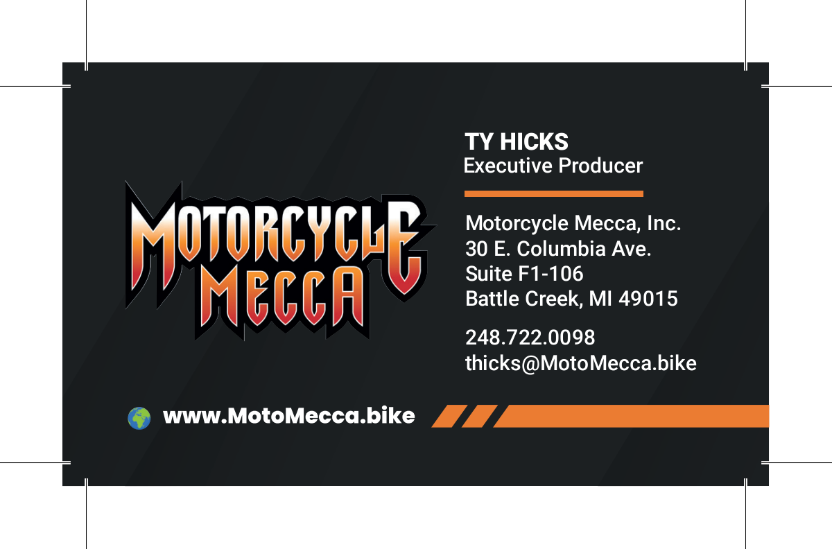 Motorcycle Mecca Business Card