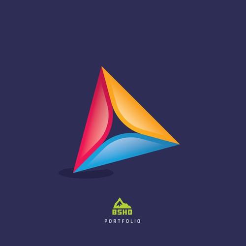 Sophisticated logo for a Bermudian blockchain services platform