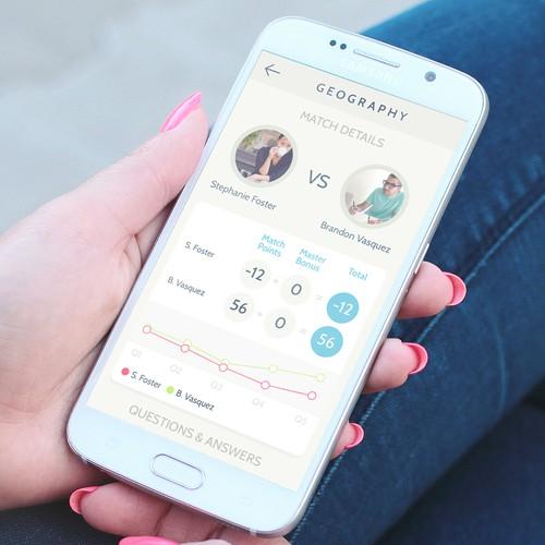 Refresh UI for a Quiz app