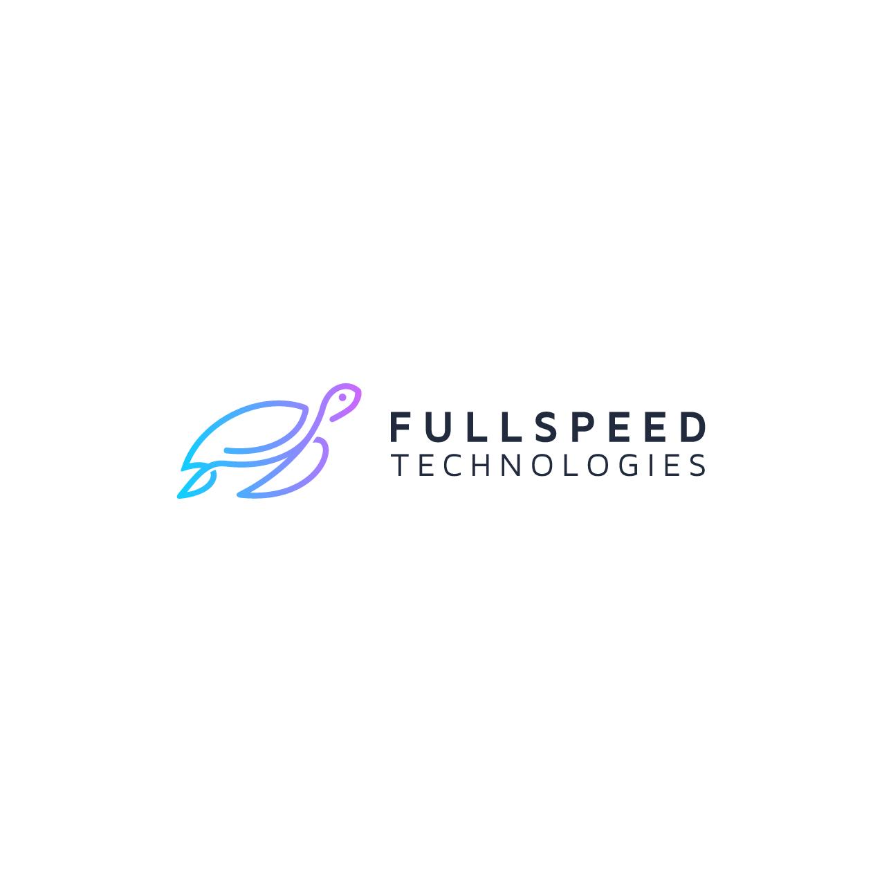 Creating our company logo of FullSpeed Technologies Inc.