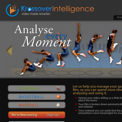 Sports Technology Website