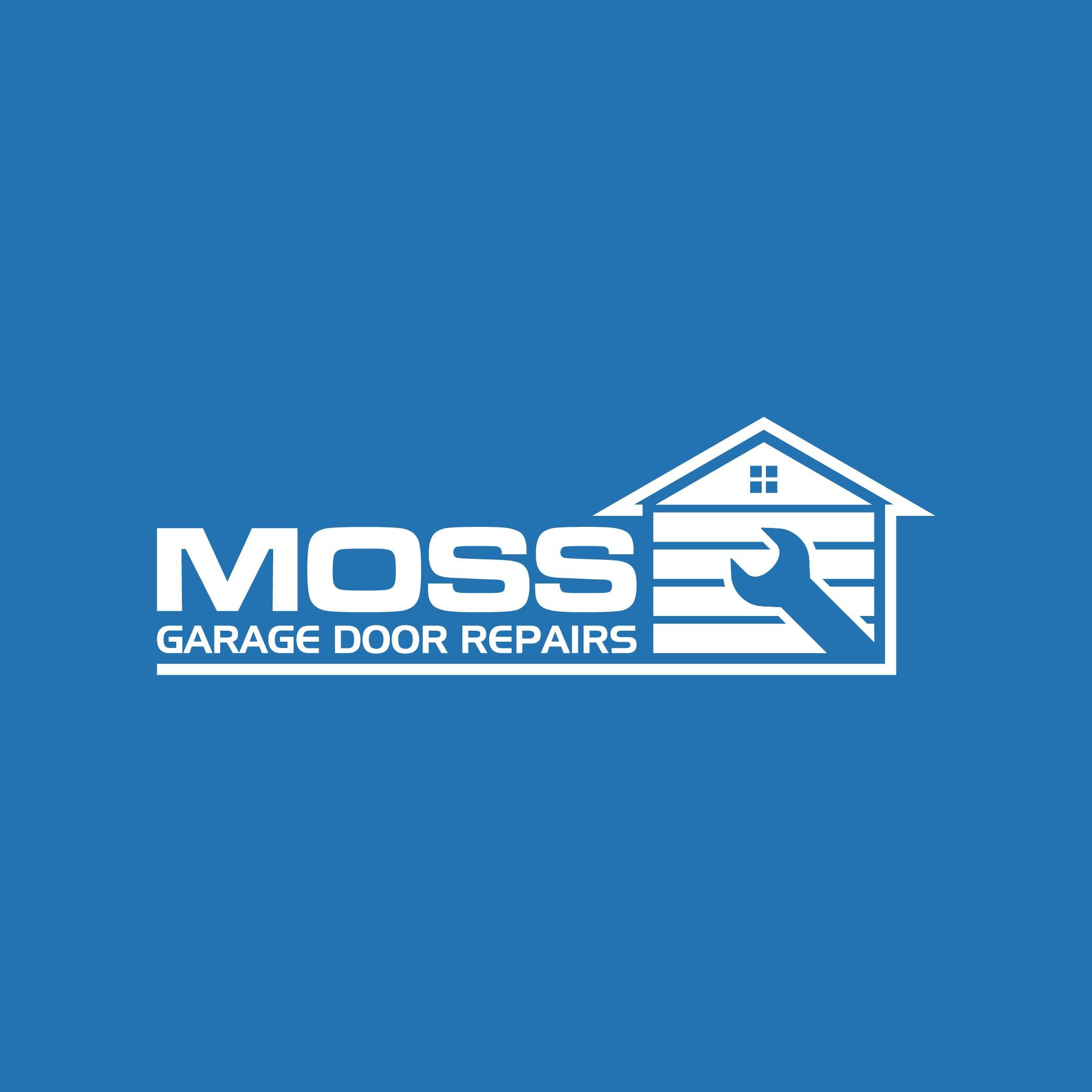 Clean, simple logo design for Garage Door Repair business