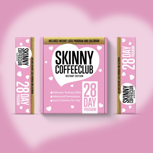 BOX DESIGN BRAND SKINNY COFFEE CLUB