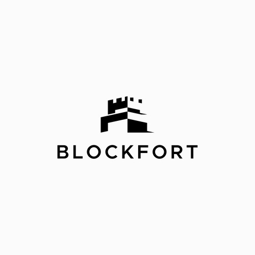 Logo concept for Blockfort