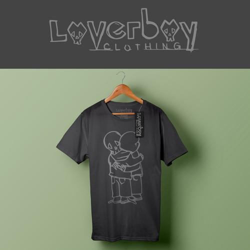 Edgy logo for clothing company