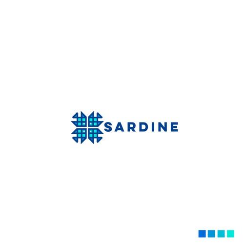 sardine fish logo