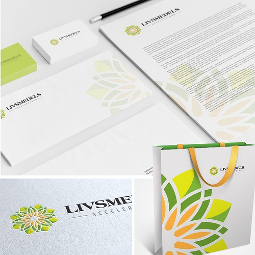 Create a winning logo for business development within the food industry