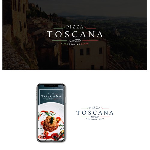 Logo design for Pizza Toscana