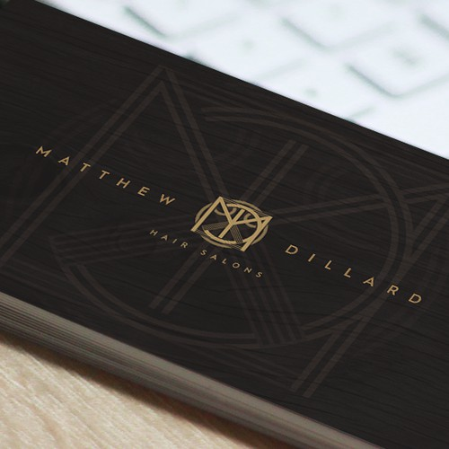 Logo design for Matthew Dillard (Hairdresser)