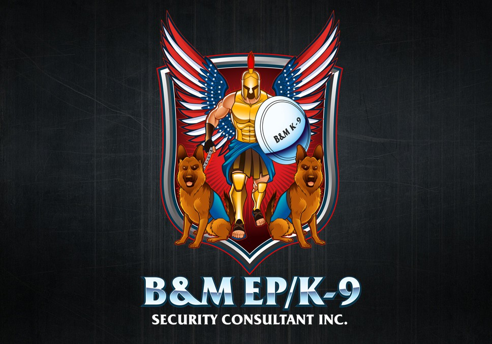 Help B&M EP/K-9 Security Consultants Inc. with a new logo