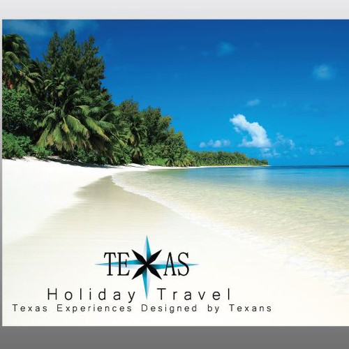 Create a useful logo for Texas Holiday Travel