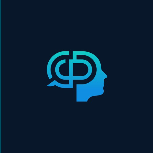 Logo for a company offering workshops (stress management etc.) based on the knowledge of neuroscience