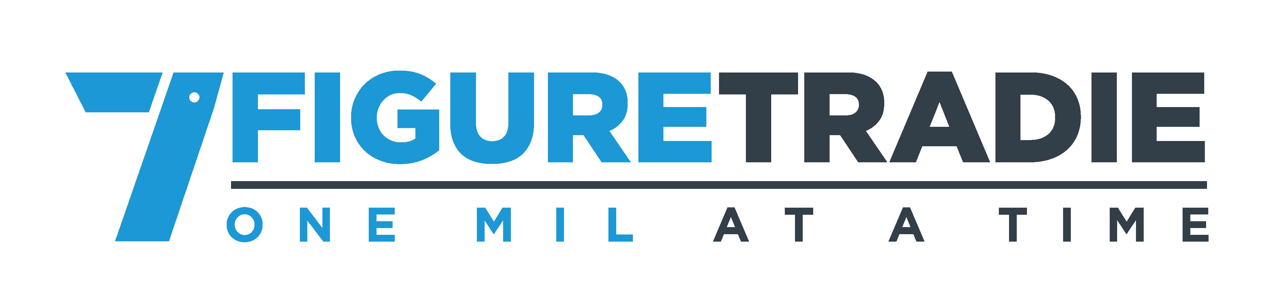 Distinctive Powerful Logo for 7 Figure Tradie