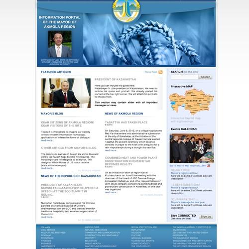Mayor's webpage